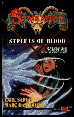 blood run caldridge series books shadowrun novels germany series new and used books from