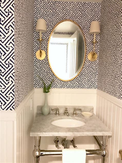 powder room meaning savvy southern style mixing metals