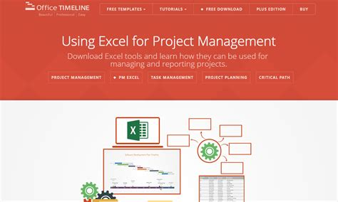 Excel Templates For Project Managers Office Move Timeline Template