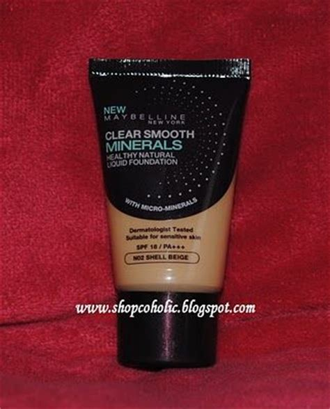 Foundation Maybelline Clear Smooth Maybelline Clear Smooth Minerals Liquid Foundation Reviews