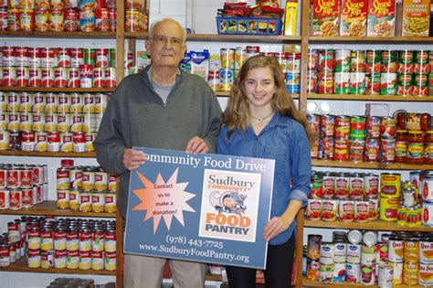 Sudbury Food Pantry by Sudbury Student Ambassadors Deliver Food To Pantry