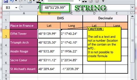 format excel latitude longitude how to convert latitude and longitude with excel
