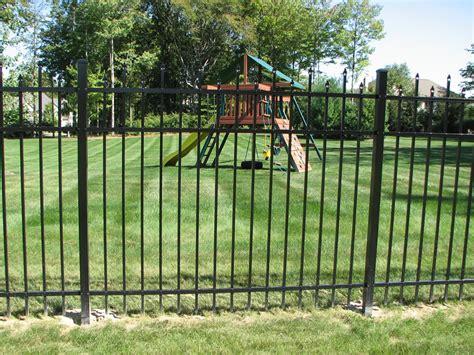 large fence sawdon fence aluminum steel wrought iron fence serving michigan