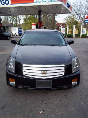 2006 cadillac cts gas mileage sell used 2006 cadillac cts base sedan 4 door 2 8l in