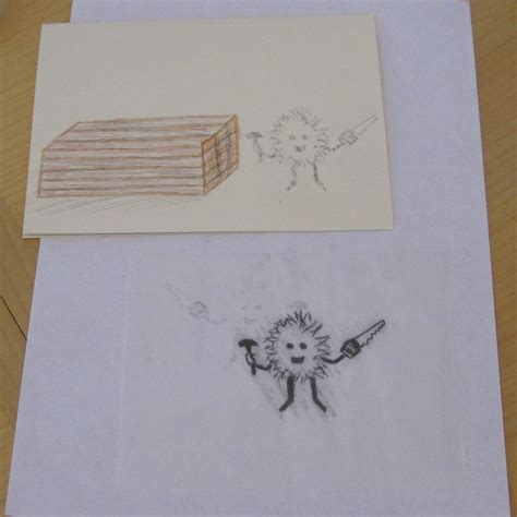 How To Transfer A Traced Drawing To Paper
