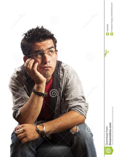 bored student waiting   idea stock image image