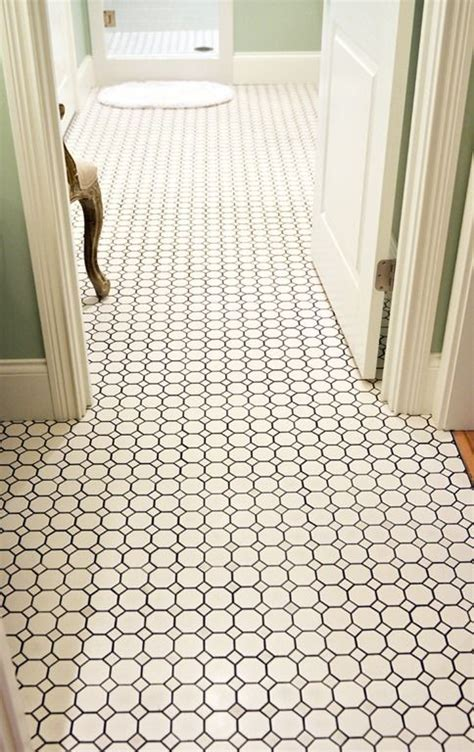 Hex Tiles For Bathroom Floors by 25 Best Ideas About Hexagon Floor Tile On