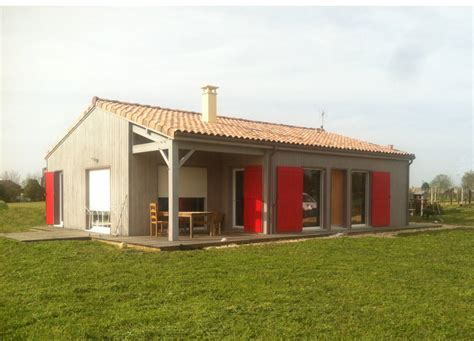 Construire Sa Maison En by Construire Sa Maison En Ossature Bois En Charente Maritime
