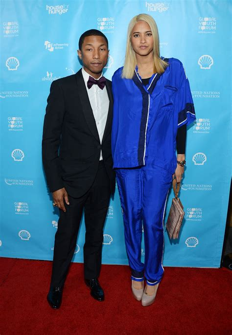Pharrell Wife Ethnicity | move over pharrell wife helen lasichanh is our new style