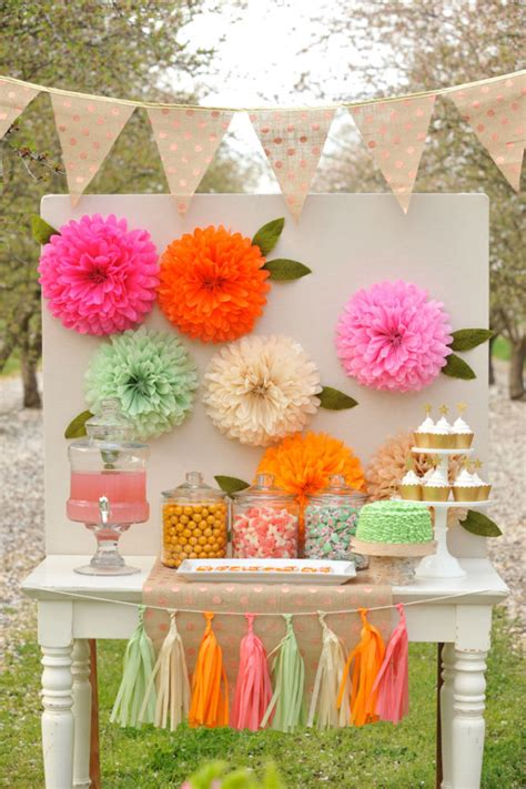 Decorating With Tissue Paper Flowers by Diy Tissue Paper Flowers Project Nursery
