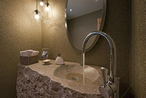 stones in bathroom sink 10 cool natural stone sink design ideas inspirationseek com