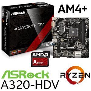 Ryzen 3 1200 Mb Asrock A320m Hdv asrock a320 hdv ryzen motherboard free shipping south africa