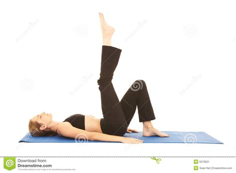 Pilates Mat Series by Pilates Exercise Series Stock Image Image 5579021