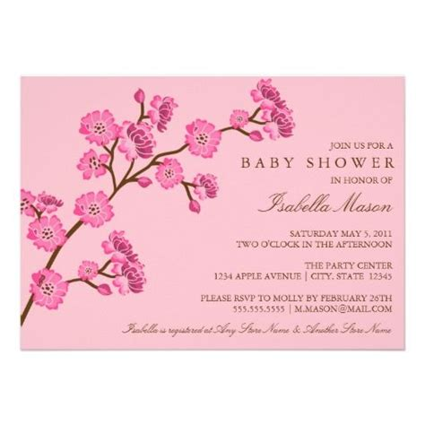 Cherry Blossom Baby Shower by 17 Best Images About Cherry Blossom Baby Shower