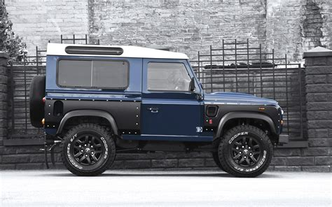 land rover defender wallpapers autocars wallpapers 2013 blue land rover defender side view wallpaper car