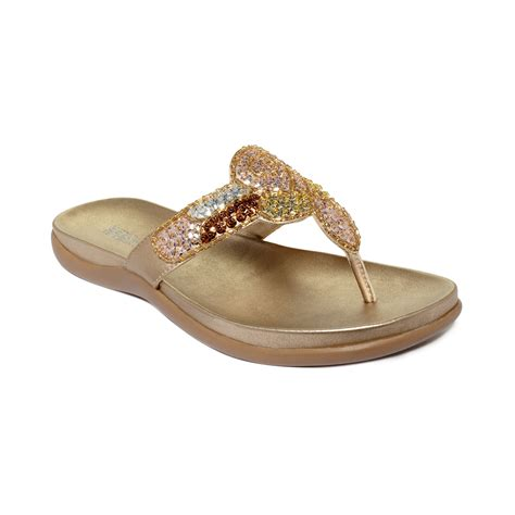 kenneth cole reaction sandals kenneth cole reaction fab glam sandals in gold