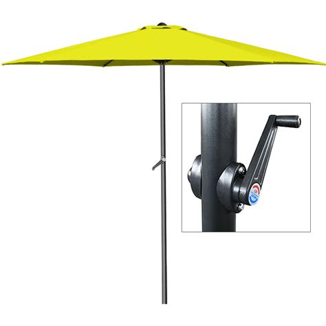 Patio Umbrella Crank Parts Garden Parasol Umbrella Crank Handle 3m Aluminium Outdoor