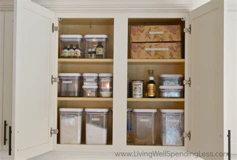 How To Clean Kitchen Cabinets by Clean Kitchen Cabinet Living Well Spending Less 174