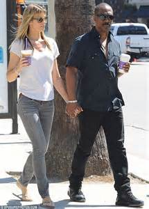 Eddie Murphy and girlfriend Paige Butcher walk hand in hand   Daily Mail Online