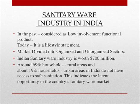 Is It Worth Doing An Mba In India by Indian Sanitary Ware Industry