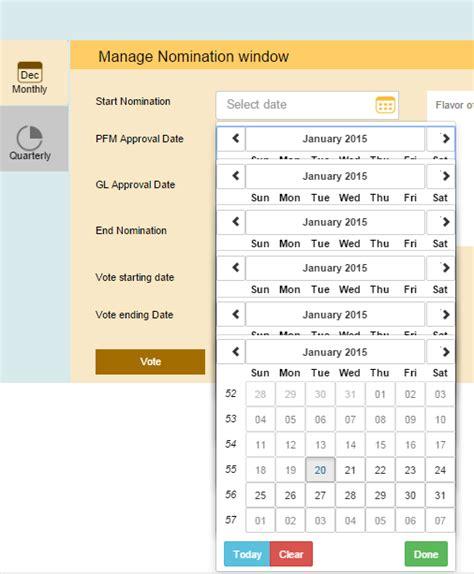 P Calendar Angular 2 Angular Ui Datepicker Popup Showing Morethan One Time I