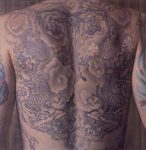 tattoo punggung tattoo chester bennington s tattoos
