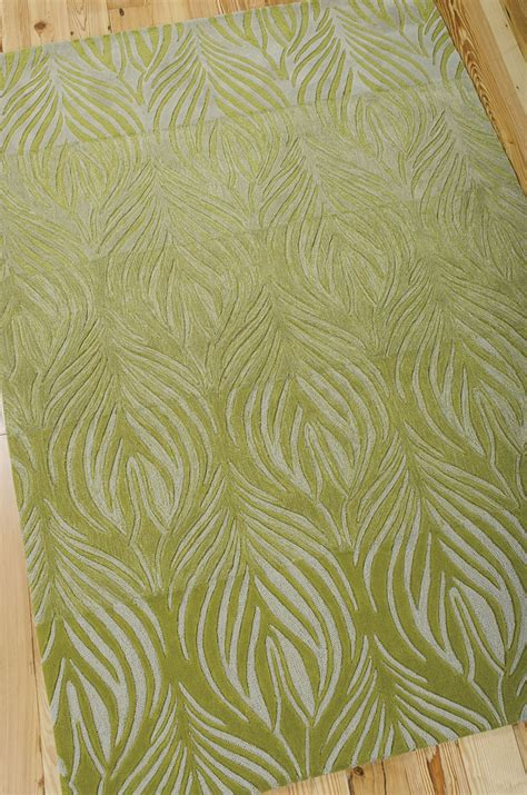 What Is A Contour Rug by Contour Con06 Green Rug By Nourison