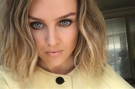 edwards haircut story has perrie edwards gone for a big chop star reveals new