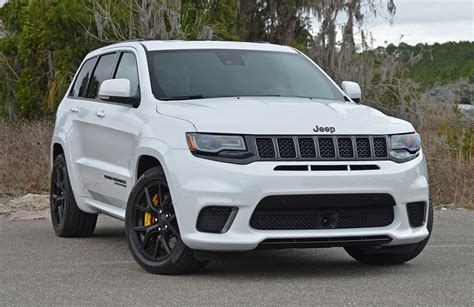 trackhawk jeep 2018 jeep grand srt trackhawk review test drive