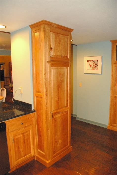 Rustic Pantry Cabinet by Rustic Cherry Kitchen Jc Woodworks