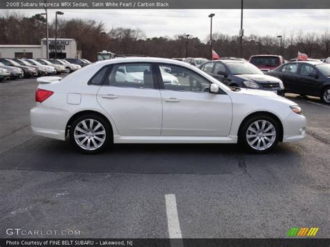 subaru sedan white 2008 subaru impreza wrx sedan in satin white pearl photo
