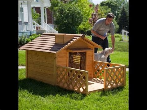 simple dog house designs diy simple dog house plans youtube