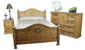 Rustic Bedroom Set - mexican pine furniture texas star rustic pine bedroom set mexican rustic furniture and home