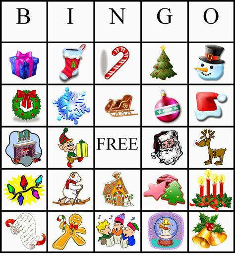 printable christmas bingo card generator 4 kids cakes christmas bingo