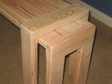 mortise and tenon bench benches for sitting mortise tenon and dovetail