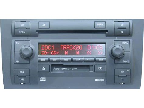 Audi A4 Radio by Audi A4 Symphony Radio To Aftermarket Autos Post