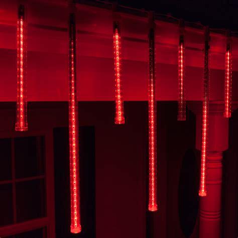 red grand cascade led light tubes  base