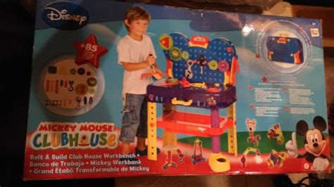 mickey mouse clubhouse work bench mickey mouse clubhouse tool bench never used or opened for