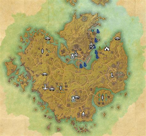 eso maps elder scrolls fishing guide to master fisher master angler around the globe
