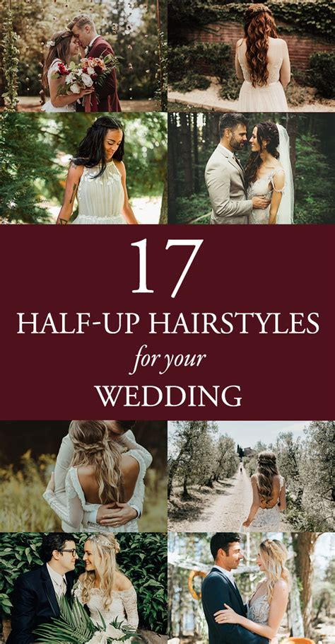 Modern Half Up Wedding Hairstyles by 17 Modern Half Up Hairstyles For Your Wedding