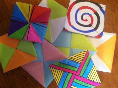 How To Make Paper Spinners - buying sunset spinners