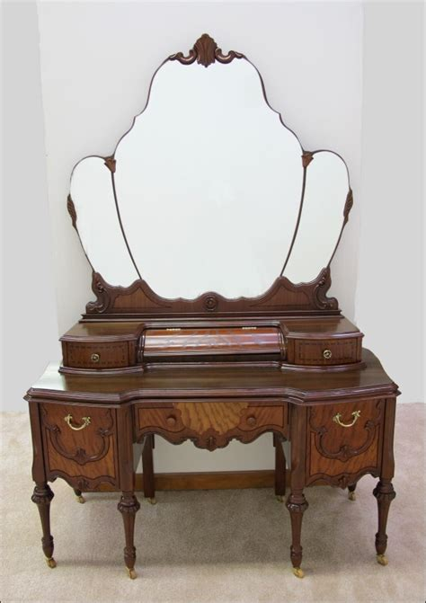 antique vanity ornate depression era furniture triple mirror 85 best images about depression era furniture on pinterest