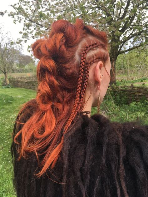 vikings hairstyles how to 25 best ideas about viking hair on pinterest edgy long