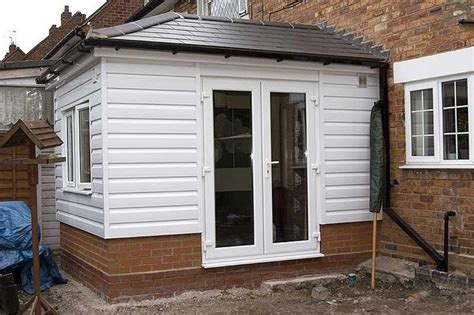 upvc clad timber framed extension small house extensions
