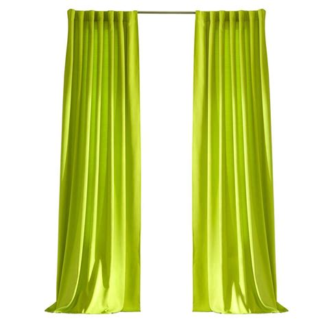 outdoor curtains home depot home decorators collection semi opaque kiwi outdoor back