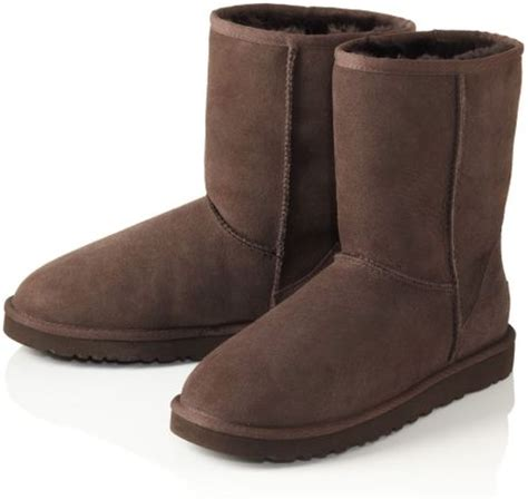 ugg classic boots in brown brown lyst