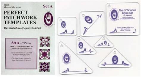 marti michell templates marti michell patchwork template set a mm8251
