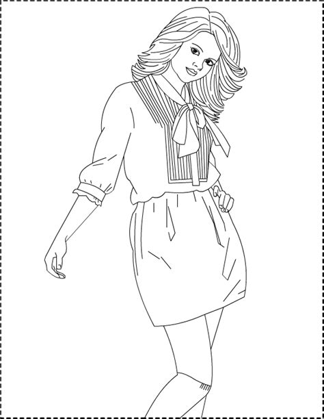 Nicole's Free Coloring Pages: Selena Gomez *** Coloring pages