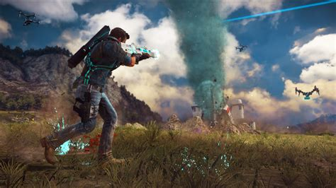 Just For 4 just cause 3 s sky fortress dlc is now available to pass