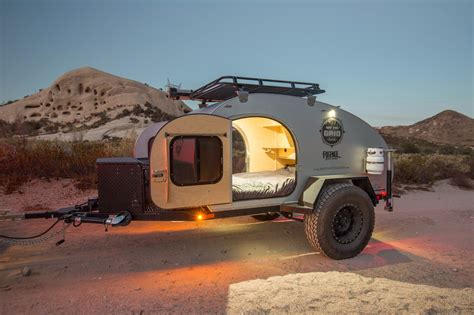 Road Teardrop Trailer Gallery The Grid Rentals